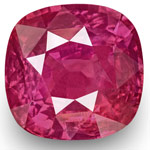 4.27-Carat Unheated Eye-Clean Cushion-Cut Ruby (IGI-Certified)
