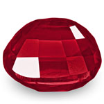 3.59-Carat Stunning VS-Clarity Fiery Vivid Neon Red Ruby (GRS)