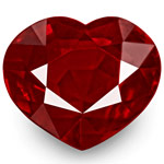 2.99-Carat Heart-Shaped Unheated VVS Pigeon Blood Red Ruby (GRS)