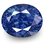 1.34-Carat GRS-Certified Unheated Vivid Royal Blue Sapphire