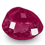 5.75-Carat GRS-Certified Unheated Rich Pinkish Red Burmese Ruby