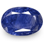 3.88-Carat Unheated Deep Cornflower Blue Sapphire from Sri Lanka
