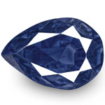 3.69-Carat Antique-Cut Unheated VVS Royal Blue Sapphire (GRS)