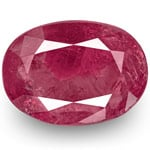 4.58-Carat IGI-Certified Unheated Purplish Red Ruby from Burma