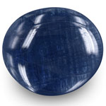 34.32-Carat Large Unheated Blue Sapphire from Mogok, Burma (GIA)