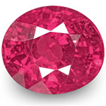 1.42-Carat Eye-Clean Fiery Vivid Pink Red Ruby from Sri Lanka