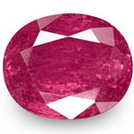 11.38-Carat Large Unheated Rich Magenta Red Ruby from Burma