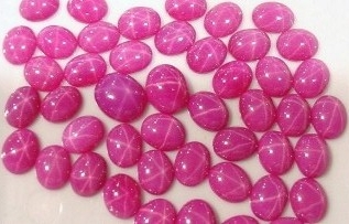 Synthetic Star Rubies
