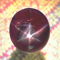 Picture of the Midnight Star Ruby