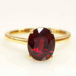 2.28-Carat Blood Red Ruby